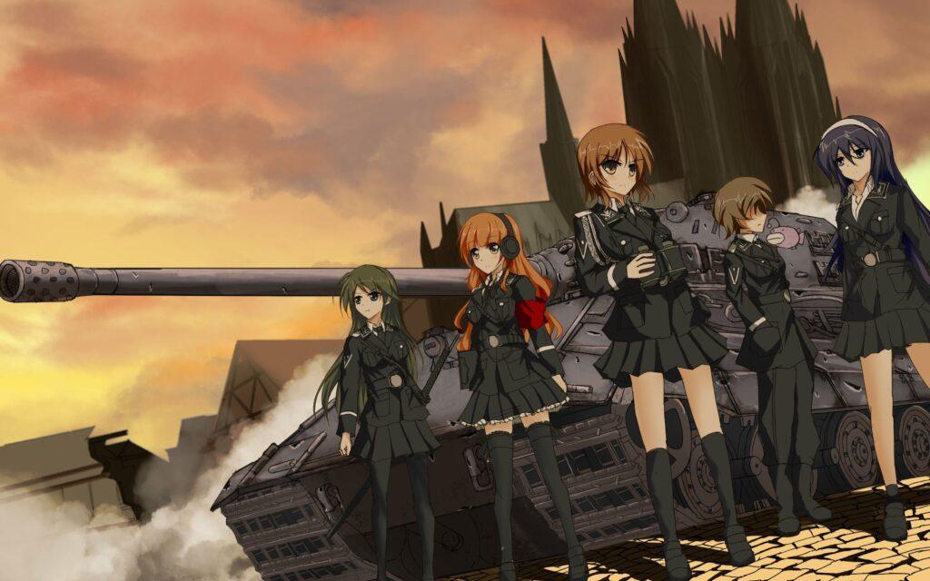 Girls und Panzer anime wallpaper