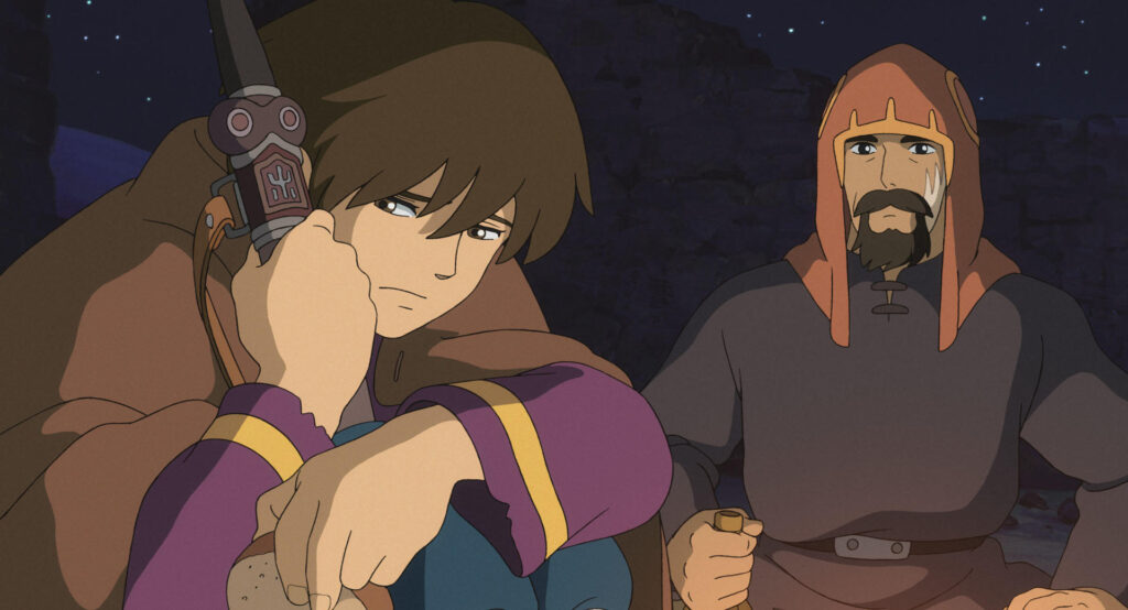 Screenshot from anime movie Tales From Earthsea