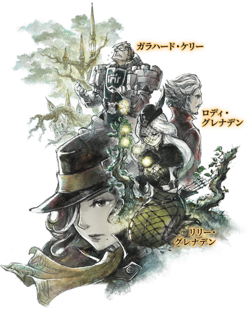 Bravely Default II new characters