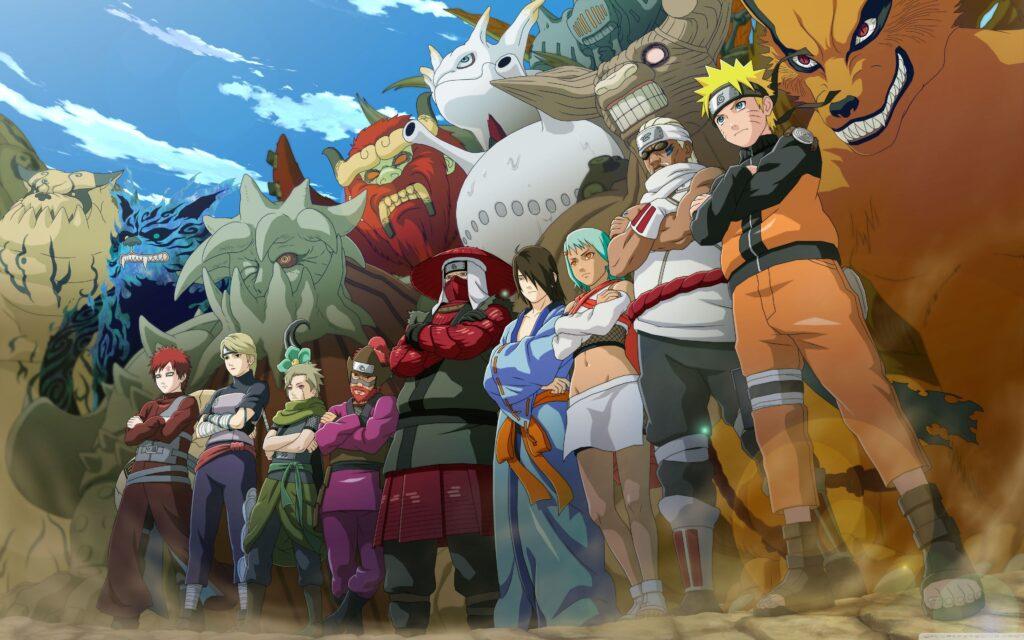 naruto anime characters