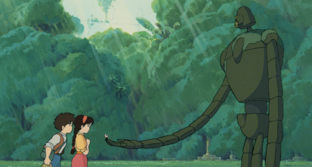 Studio Ghibli anime movie screenshot