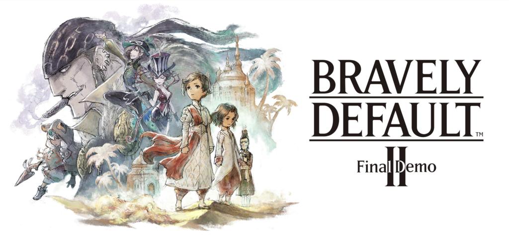 Bravely Default 2 Final Demo TOP