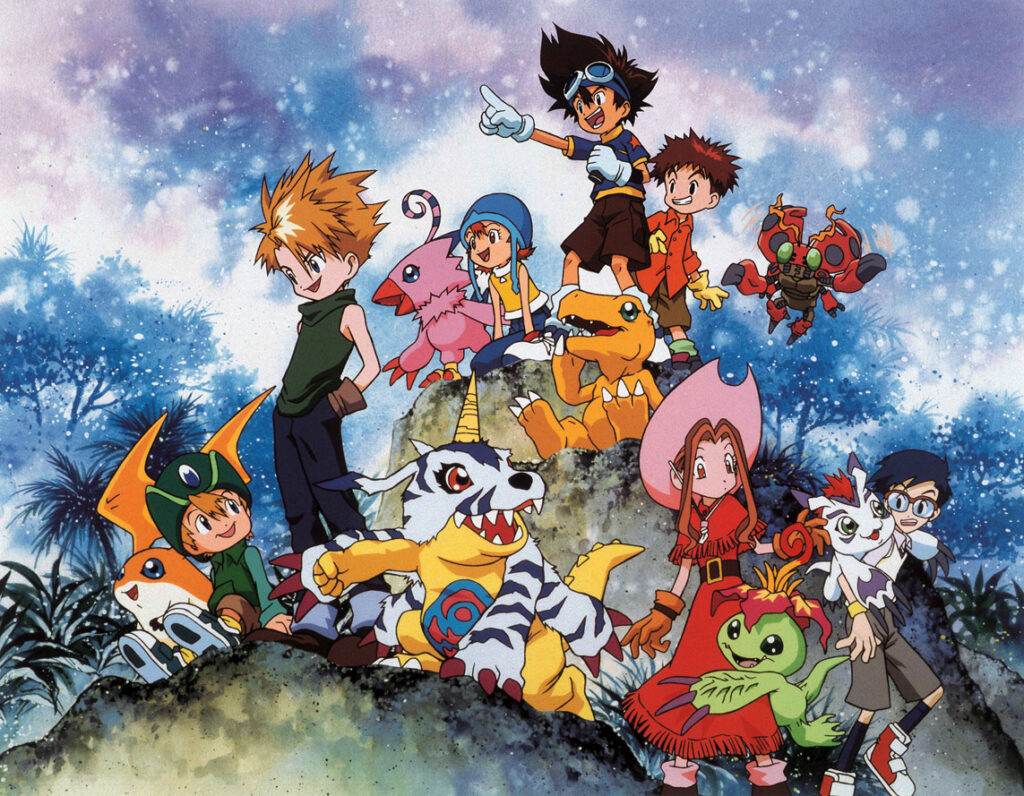 Digimon anime art