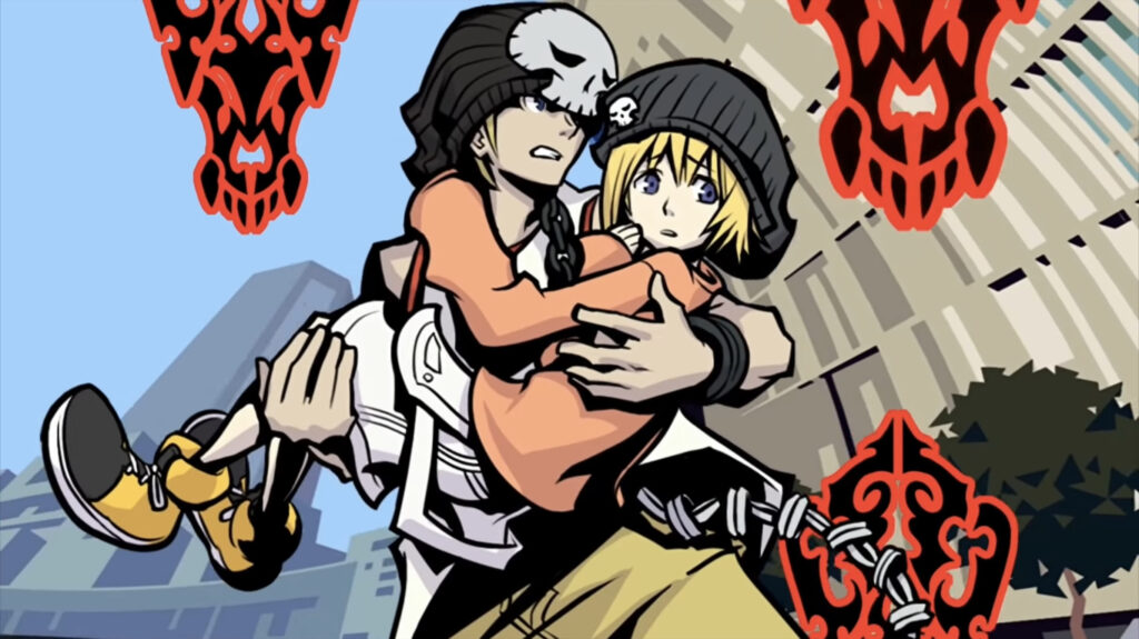 Screenshot from game The World Ends With You