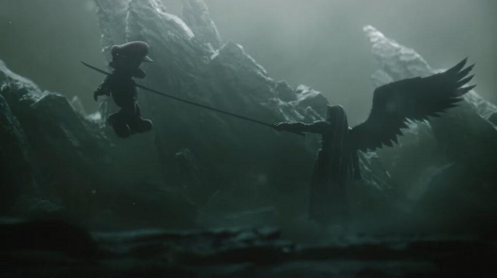 Sephiroth in Smash Bros game