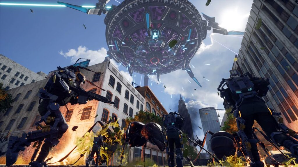 Earth Defense Force gameplay image