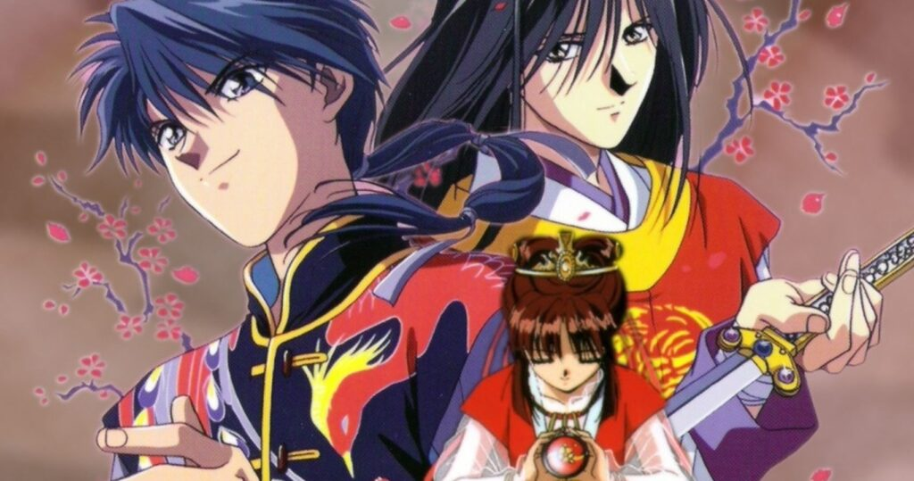Fushigi Yuugi anime image