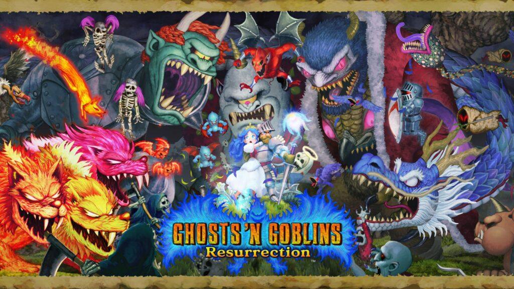 Capcom Showcases Ghosts 'n Goblins Resurrection Game Logo