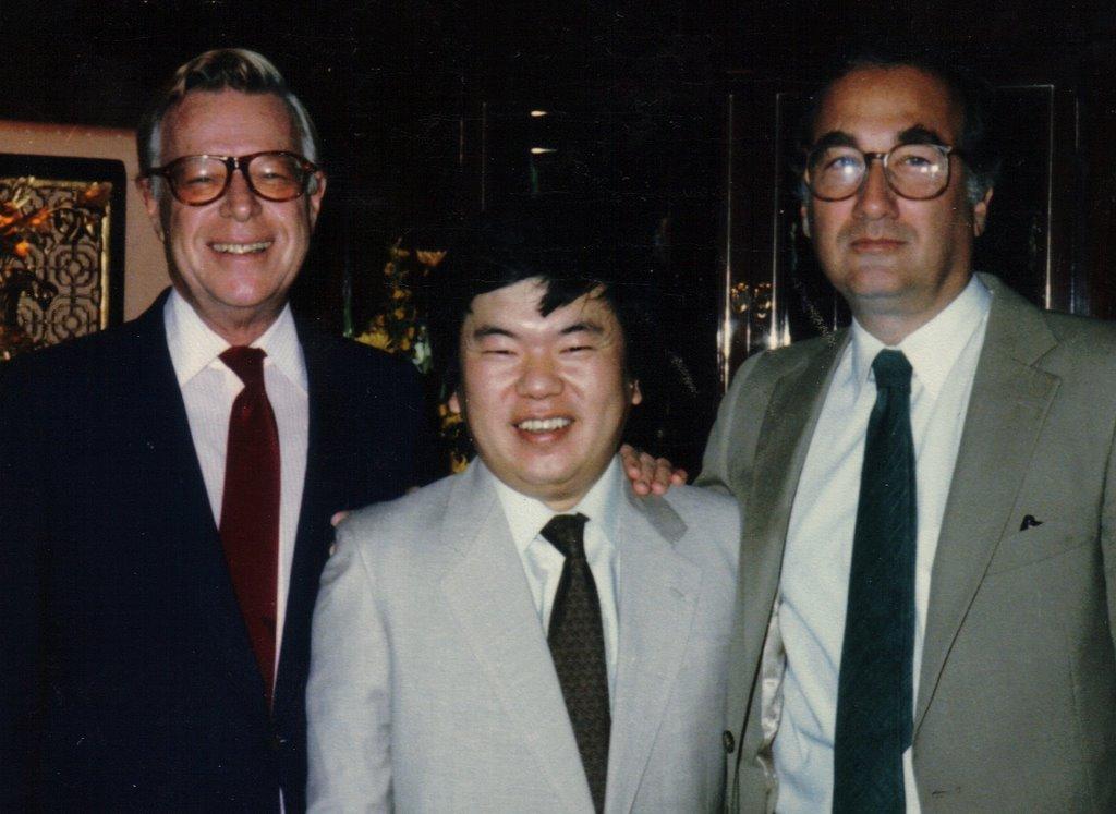 Arthur Rankin, JR., Masaki Iizuka and Jules Bass