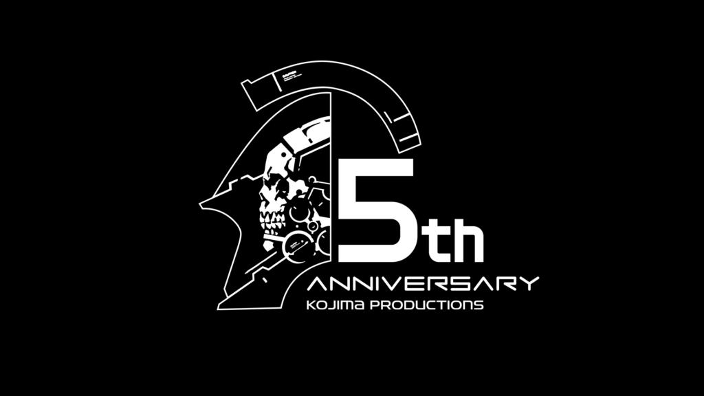 Logo for Kojima productions 5th anniversary