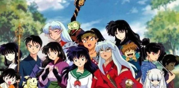 Characters from Inuyasha anime