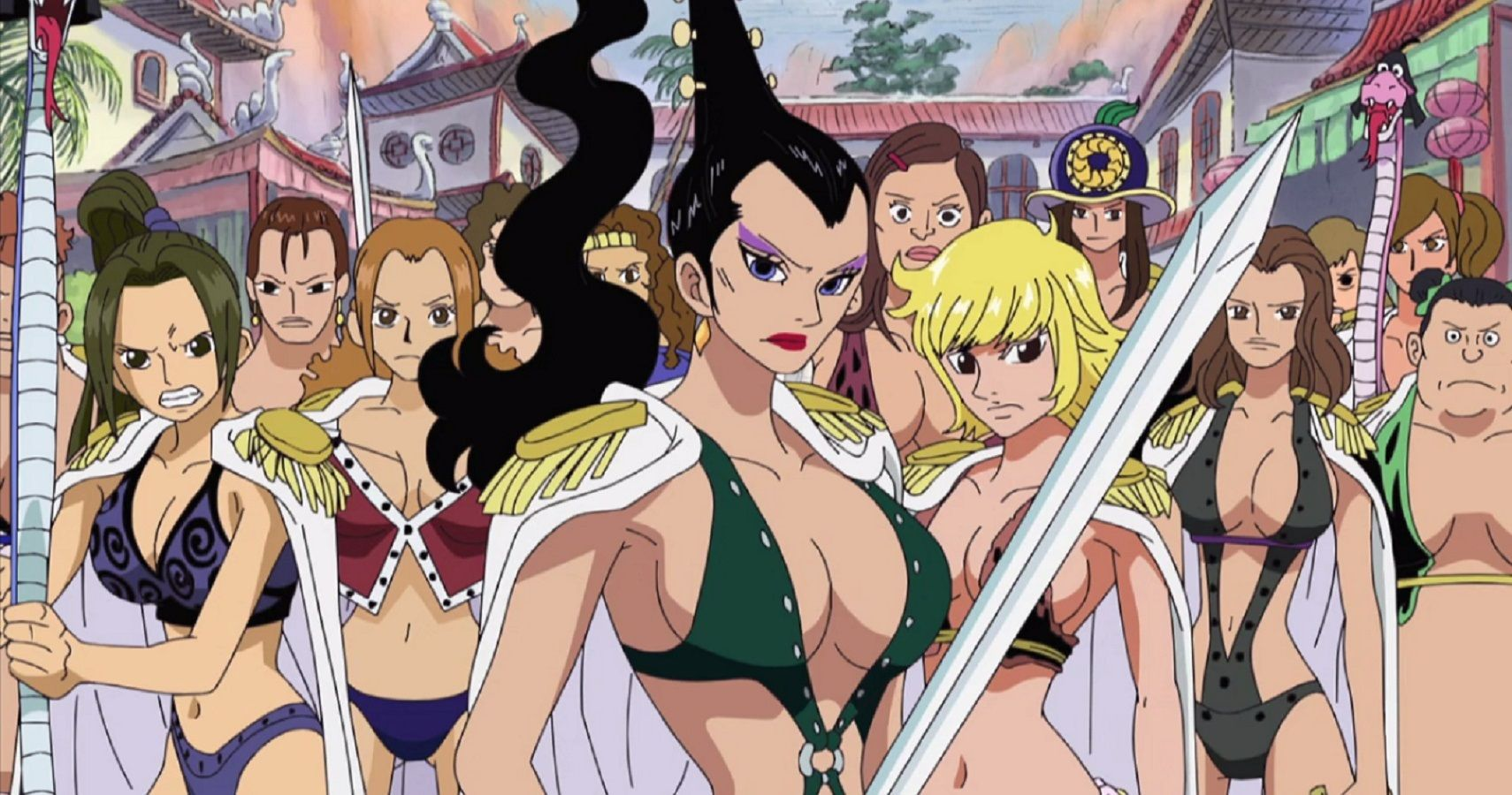 Amazon Lily Kuja from One Piece anime