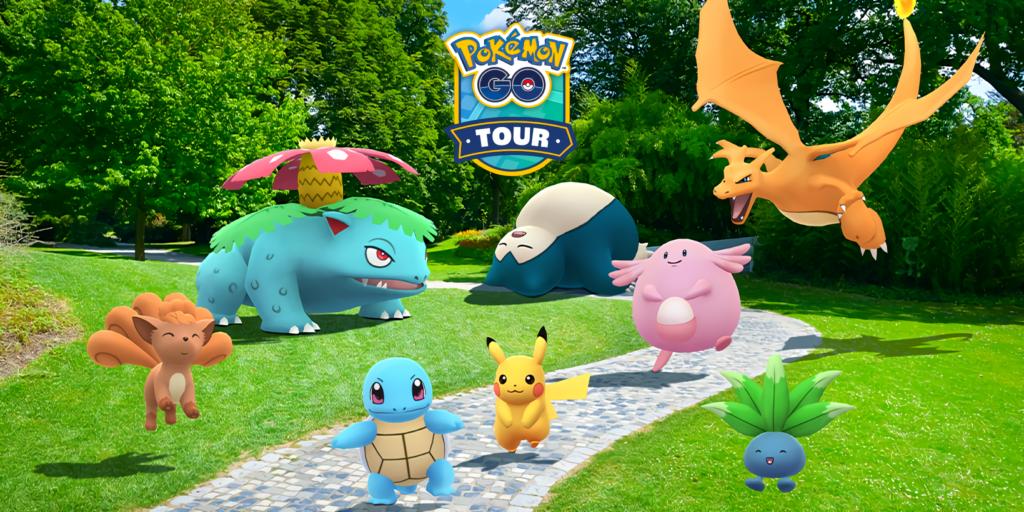 Pokemon Go Tour TOP