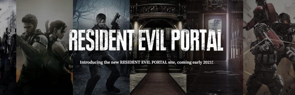 Resident Evil Portal screenshot
