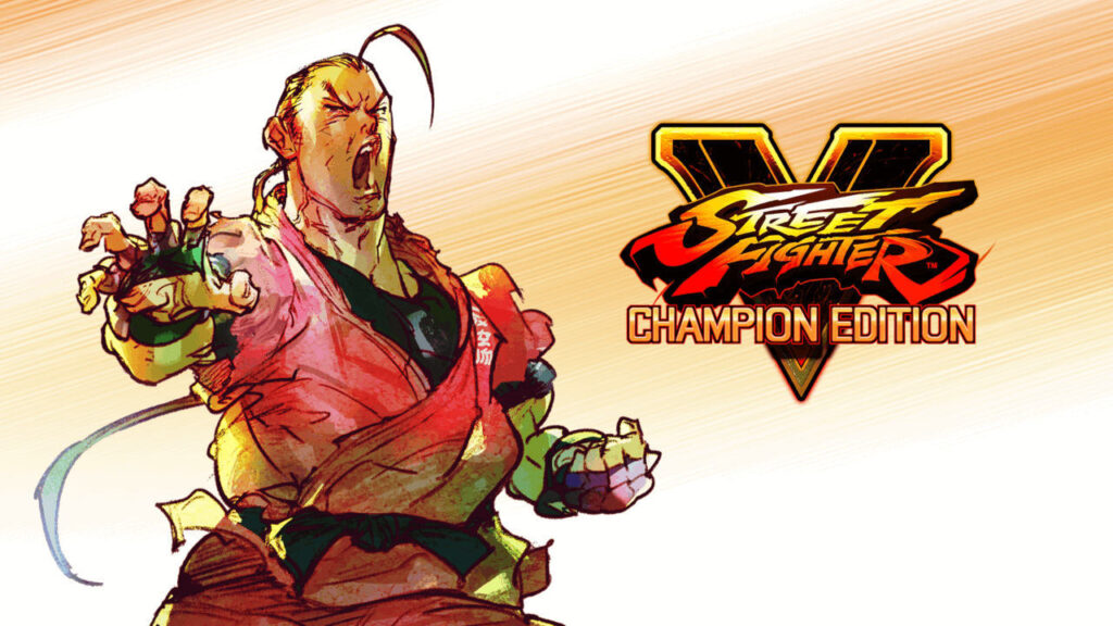 Dan from Street Fighter V