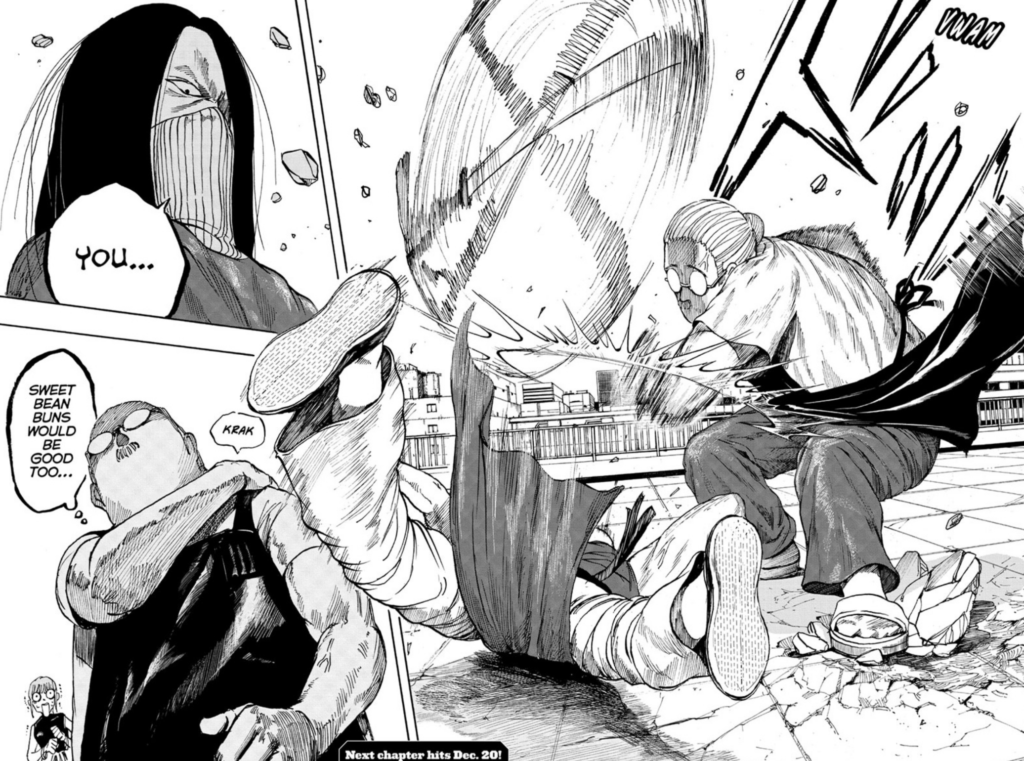 Page from Chapter 4 of manga Sakamoto Days