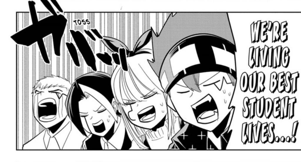 Page from Chapter 43 of manga MASHLE