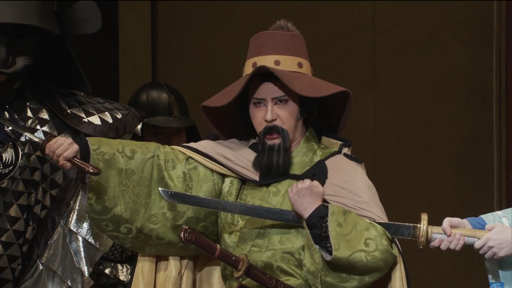 Photo from Nausicaa Kabuki Stage Play