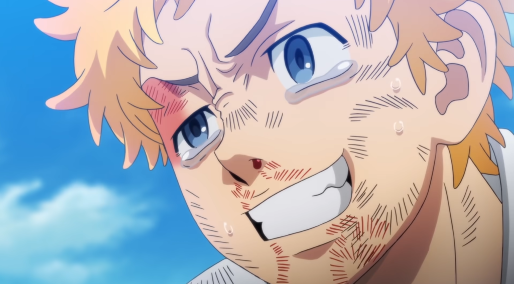 Screenshot from anime Tokyo Revengers PV