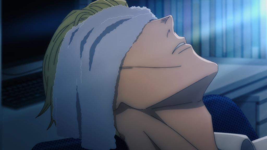 Nanami from anime Jujutsu Kaizen