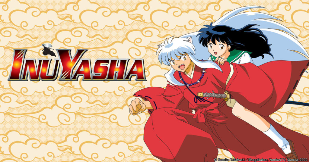 Logo and characters from Inuyasha anime