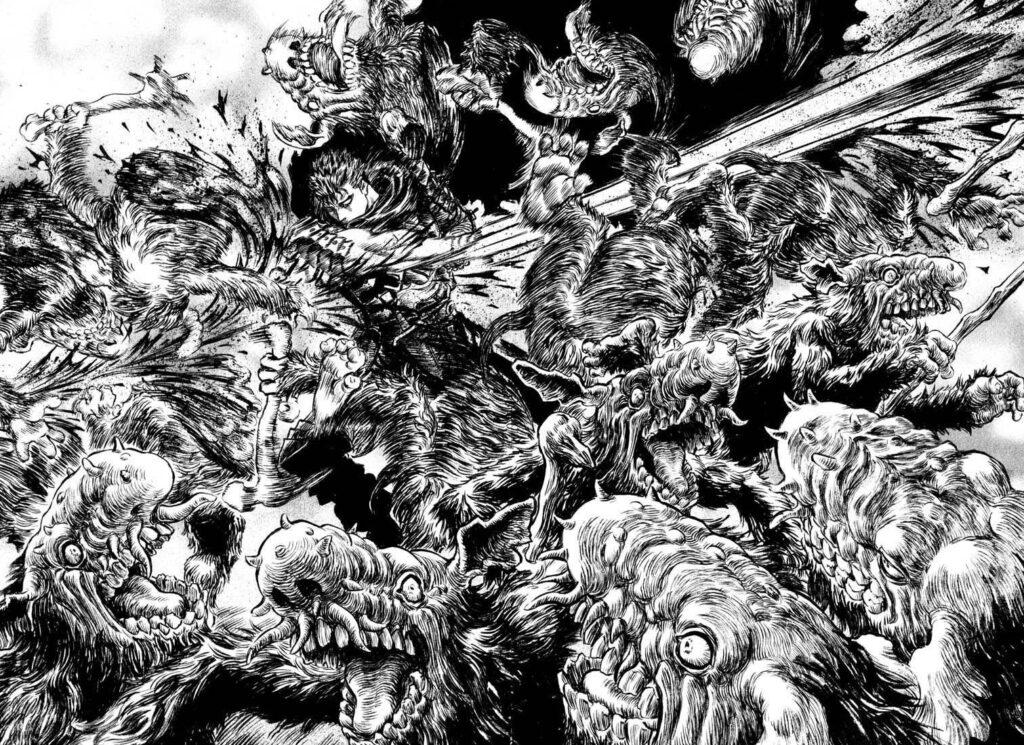 Berserk Manga Page