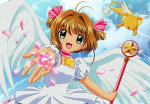 Sakura Kinomoto from Cardcaptor Sakura anime