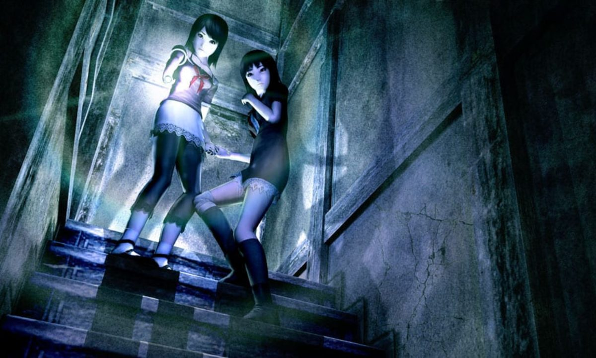Screenshot from video game Fatal Frame