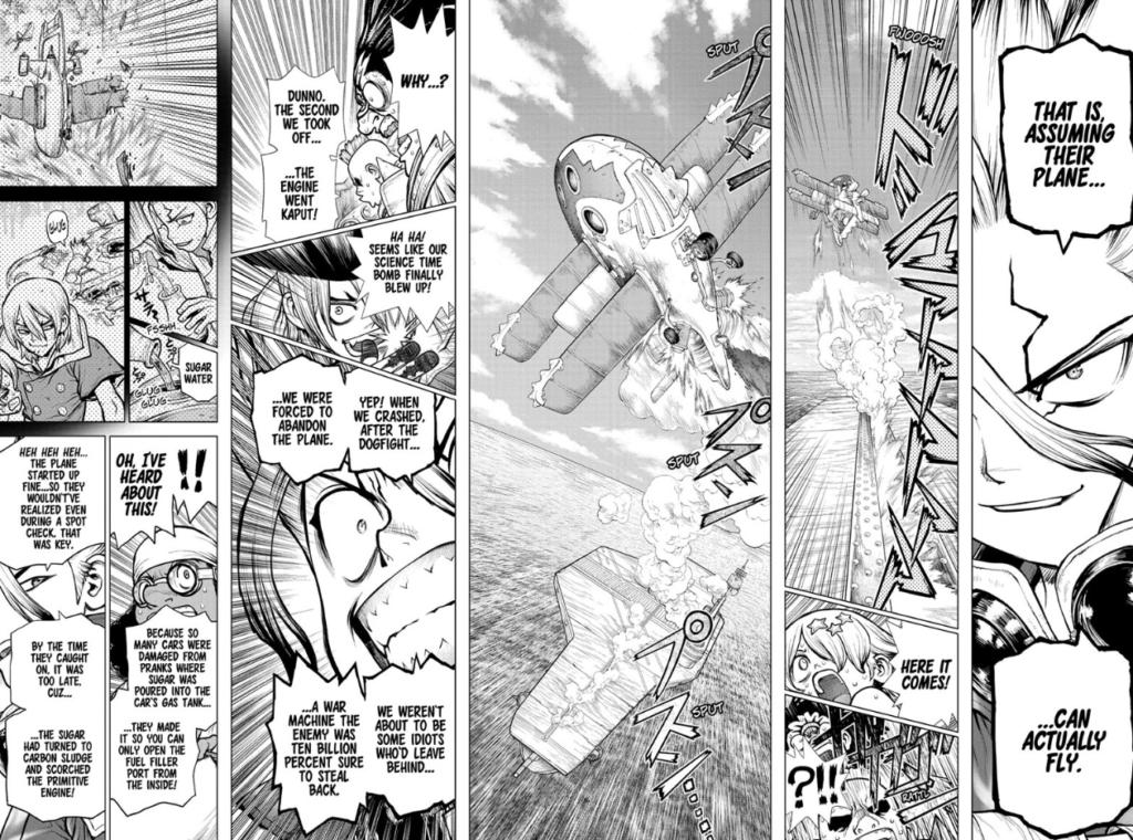 Dr. STONE manga chapter 176
