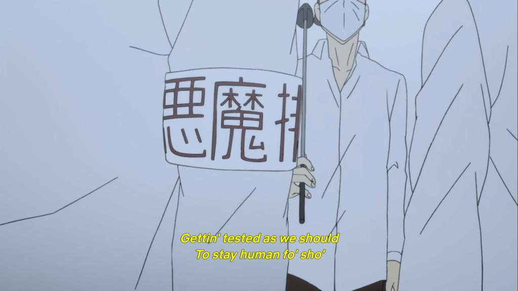 Devilman anime screenshot