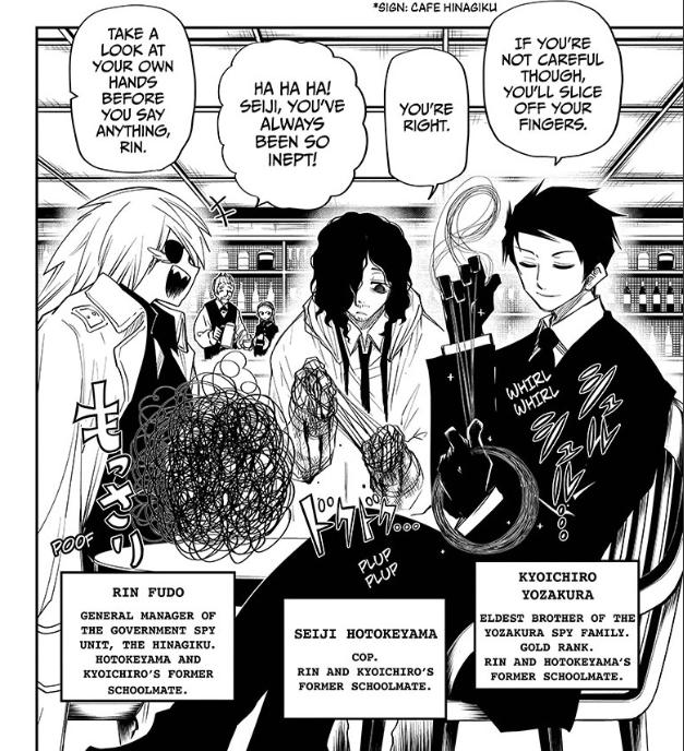 Mission: Yozakura Family Chapter 62