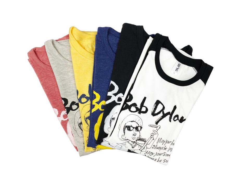 Naoki Urasawa Bob Dylan collaboration T-shirts
