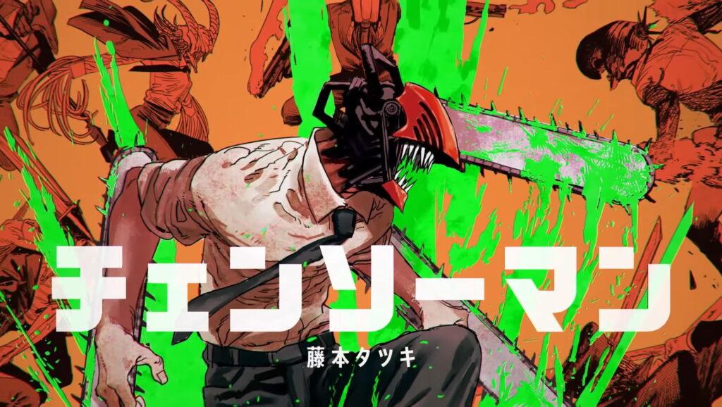Chainsaw Man Manga Cover
