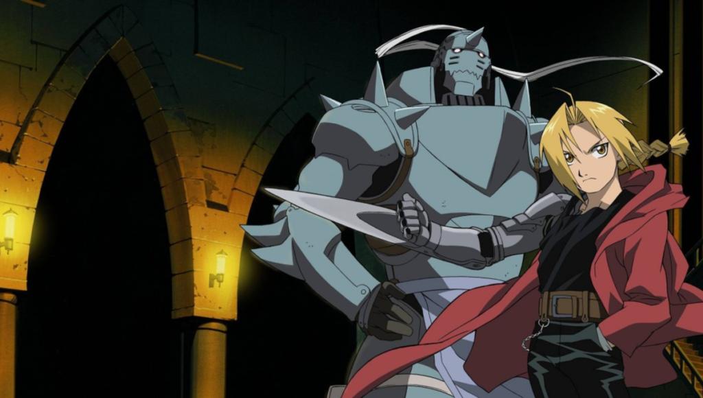 Visual from anime Fullmetal Alchemist
