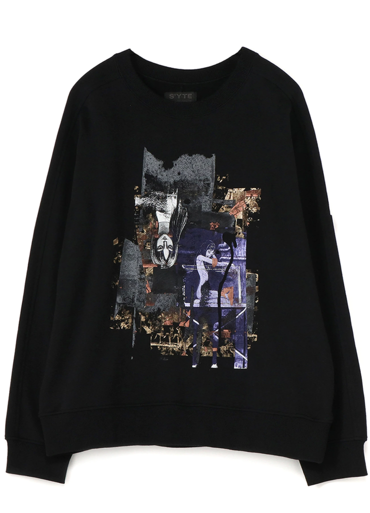 Junji Ito Fashion Colab Sweater