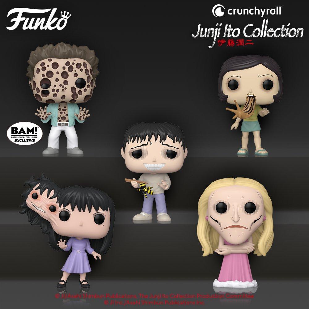Junji Ito Funko Pop Line