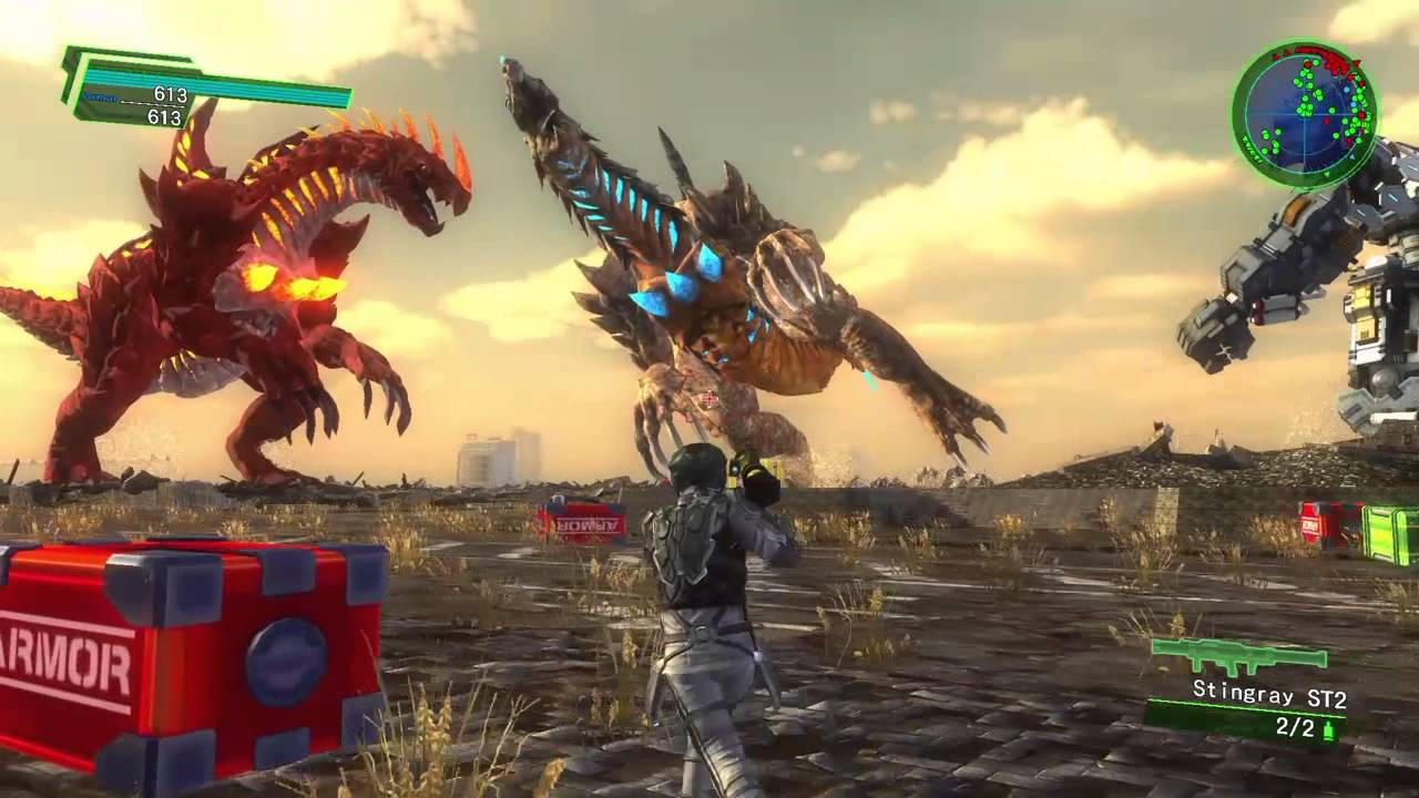 screenshot from Earth Defense Force