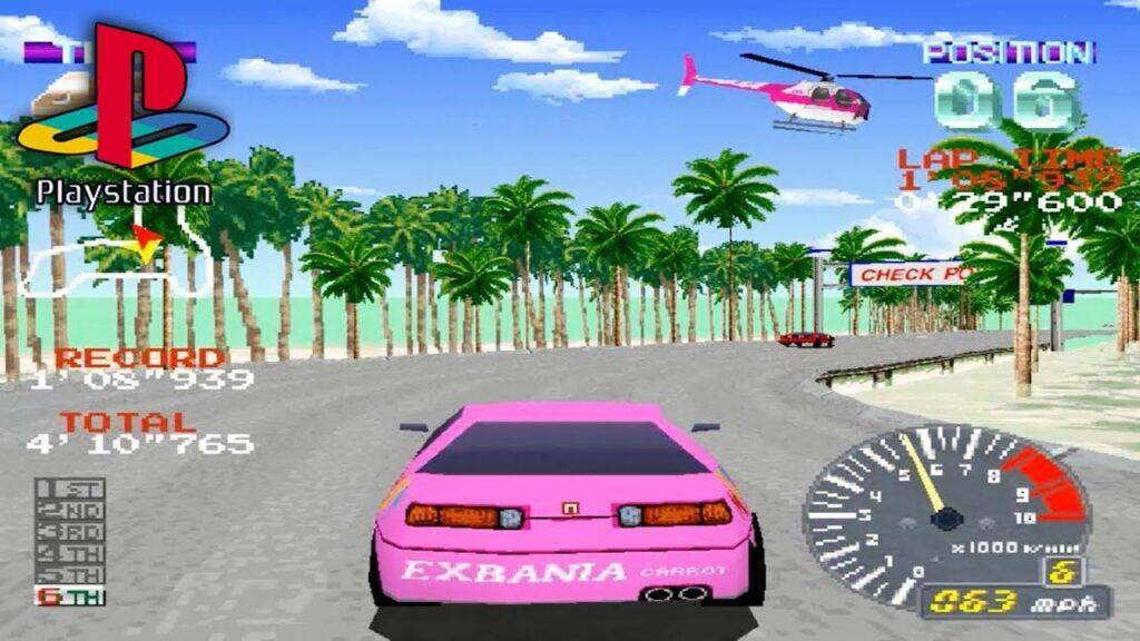 Screenshot from Ridge Racer