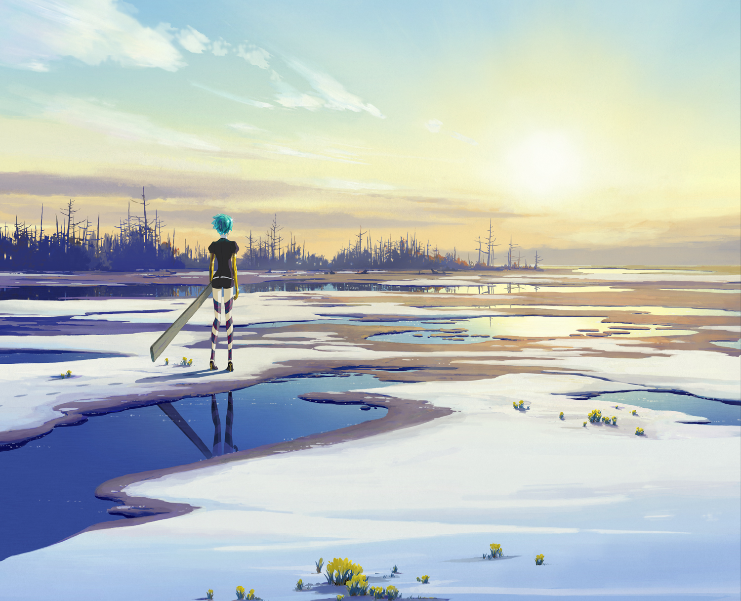 Land of the Lustrous Anime