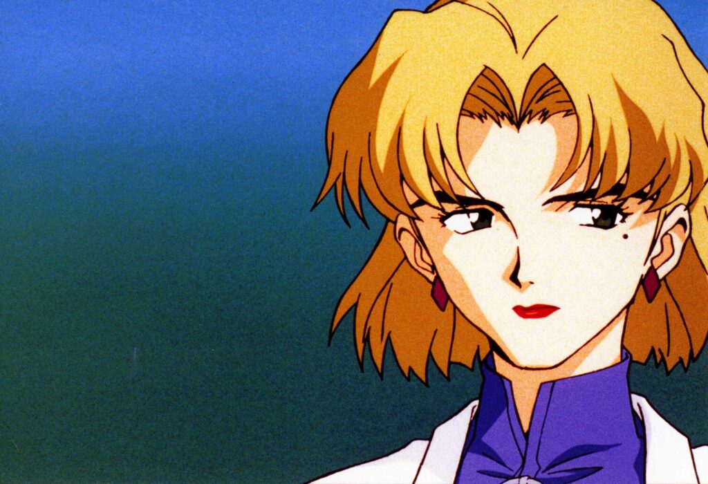Ritsuko Akagi from anime Neon Genesis Evangelion
