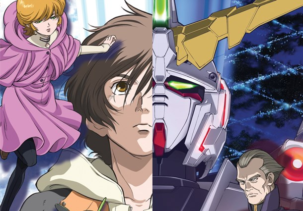 Gundam Unicorn anime still