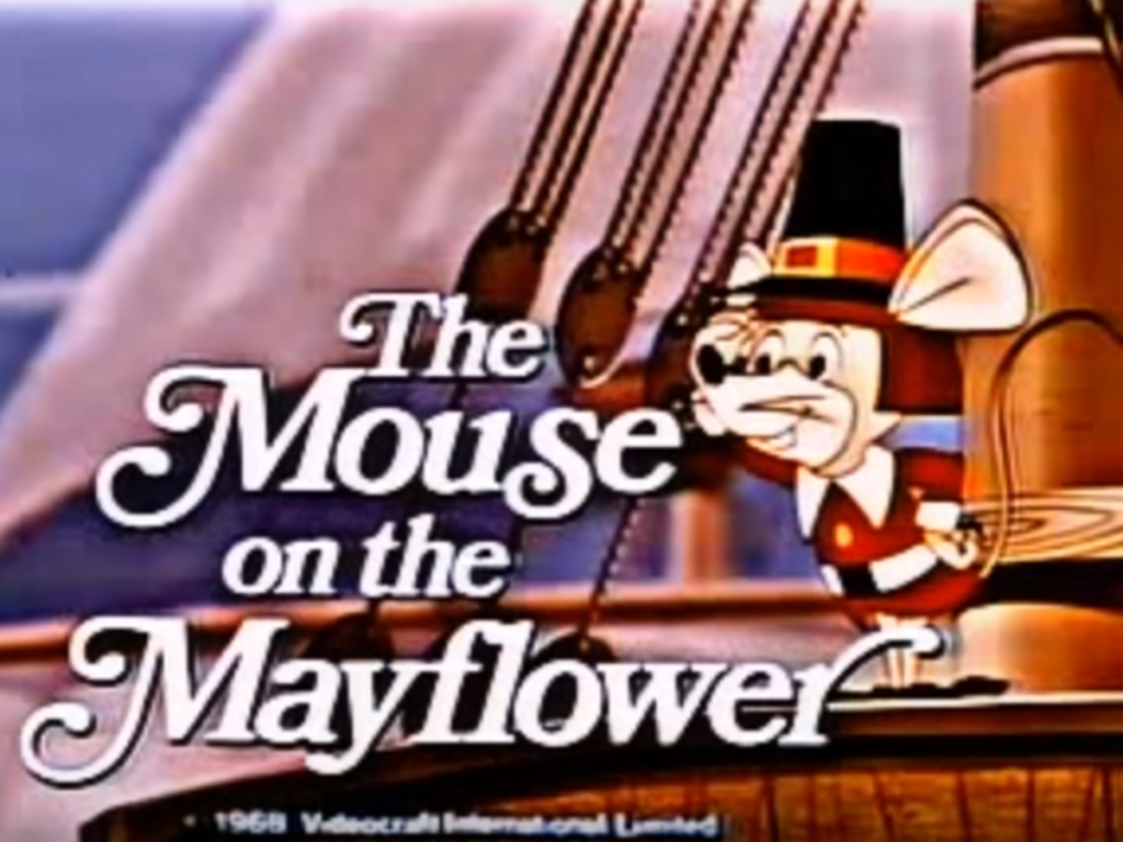 The Mouse on the Mayflower Title logo