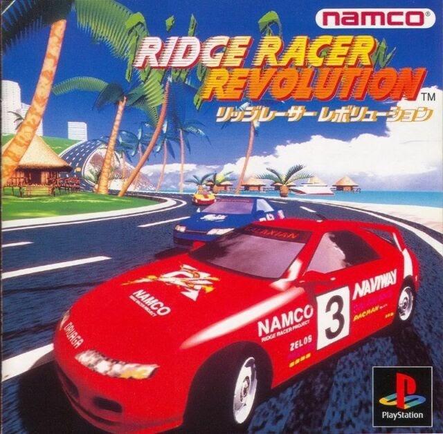 Cover for game Ridge Racer Revolution