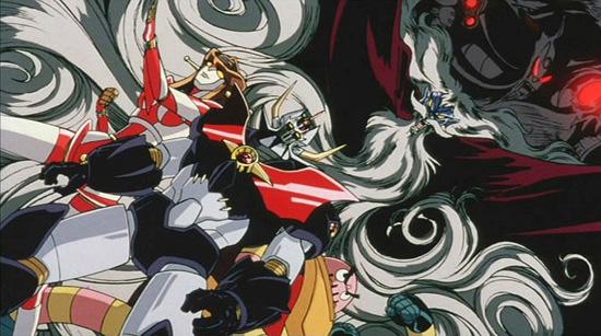Mazinkaiser Mazinger anime visual