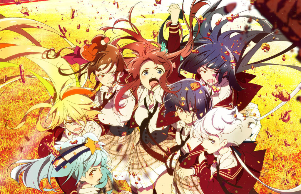 Visual of anime Zombie Land Saga Revenge