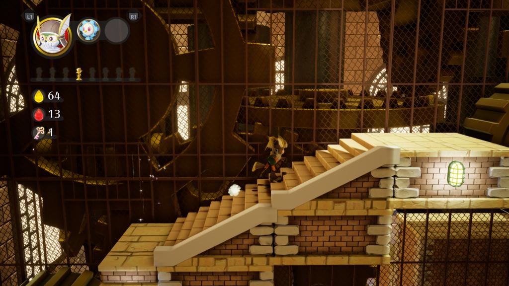 Balan Wonderworld game screenshot