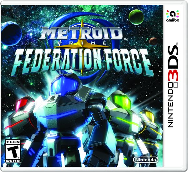 Metroid Prime Federation Force game cover