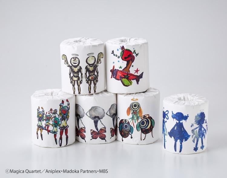 Puella Magi Madoka Magica x Felissimo Toilet Paper