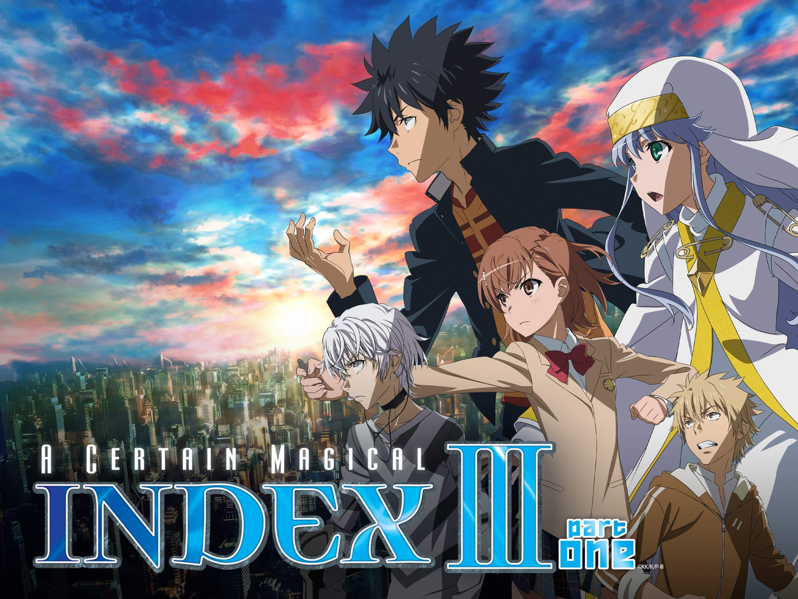 A Certain Magical Index anime visual
