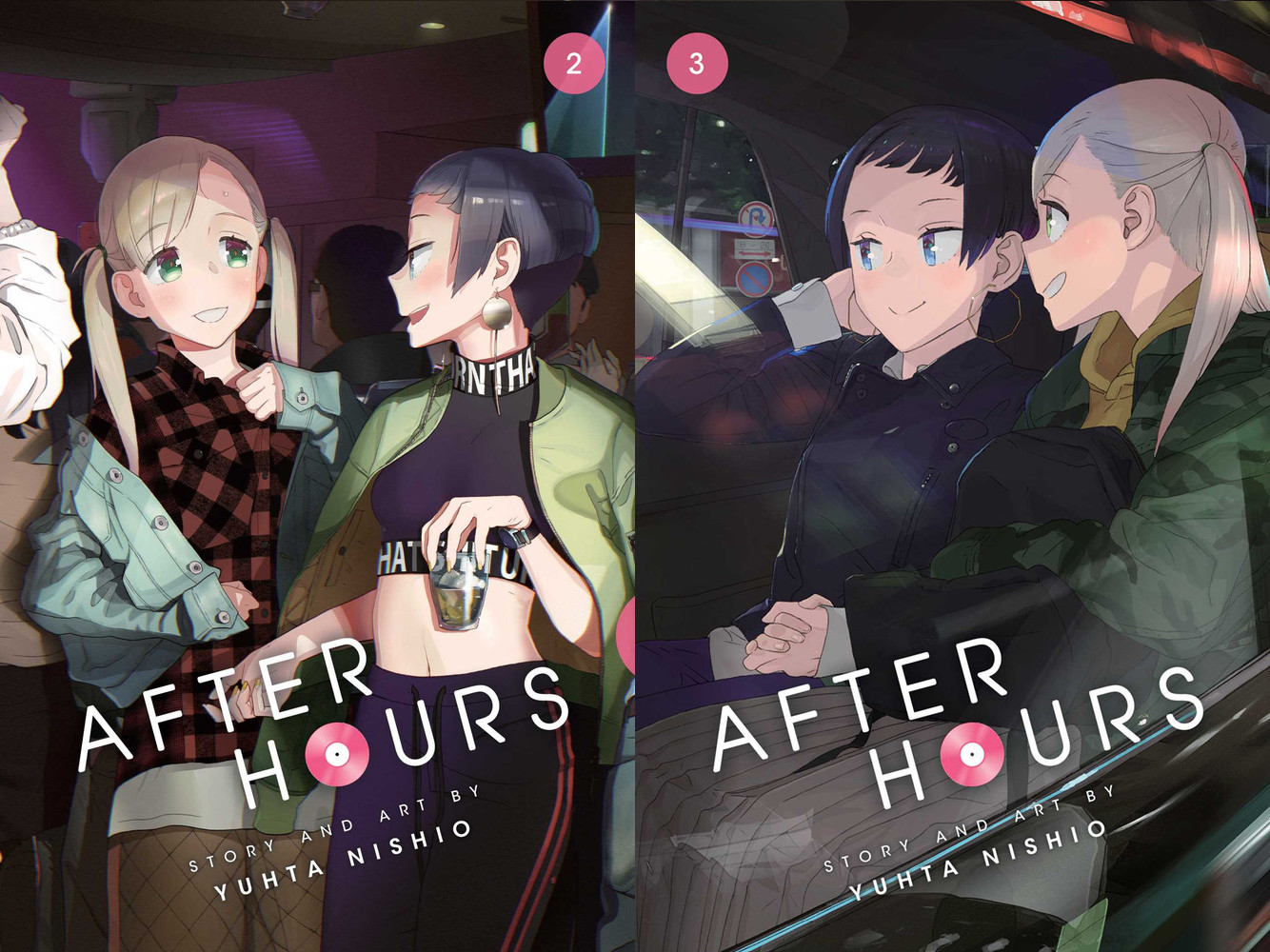 After Hours manga cover